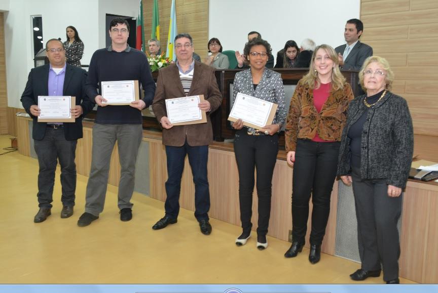 Meios de Comunicação do município integraram a lista de homenageados