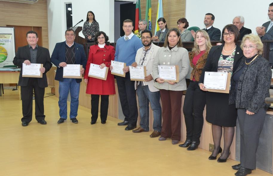 Pró-reitorias da FURG receberam homenagem pelo apoio prestado