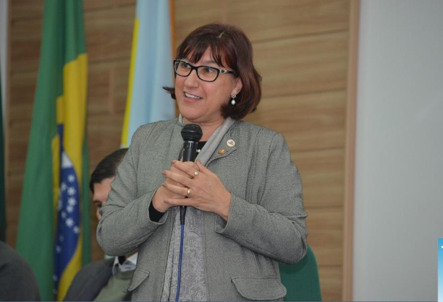 Reitora Cleuza Dias destacou o Cenpre como referência no cuidado com as pessoas