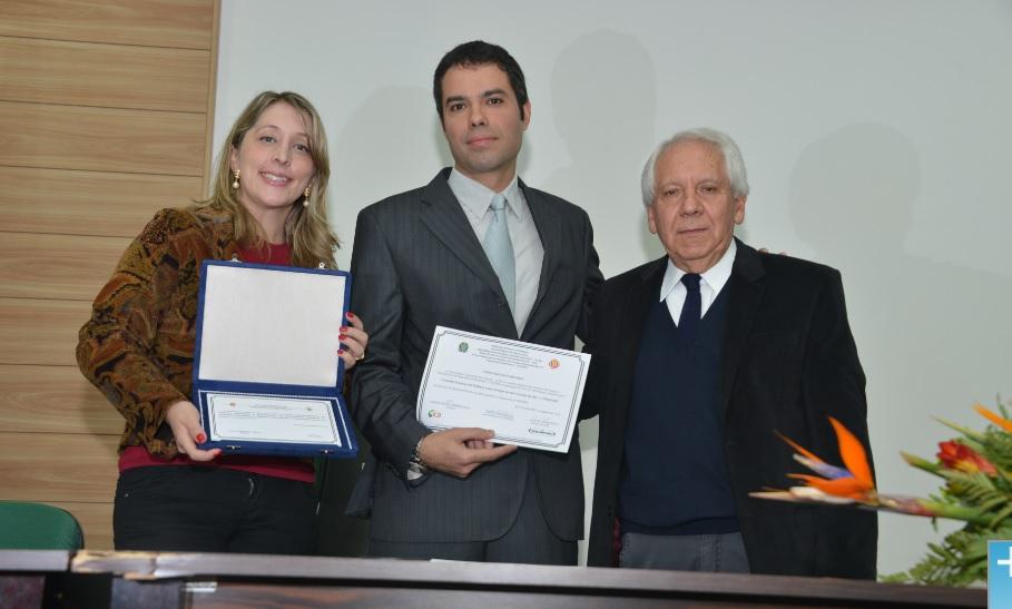 Conselho Estadual de Políticas sobre Drogas também recebeu homenagem do Cenpre, representado pelo vice-presidente Eduardo Cruz